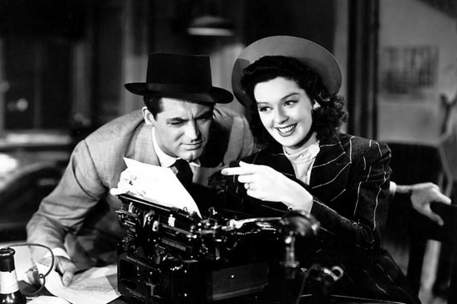 HIS GIRL FRIDAY / © Columbia