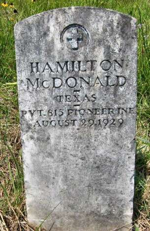 A headstone from Magnolia Cemetery. Photo: Melodey Hauch, Melodey Hauch/Galveston County H / handout