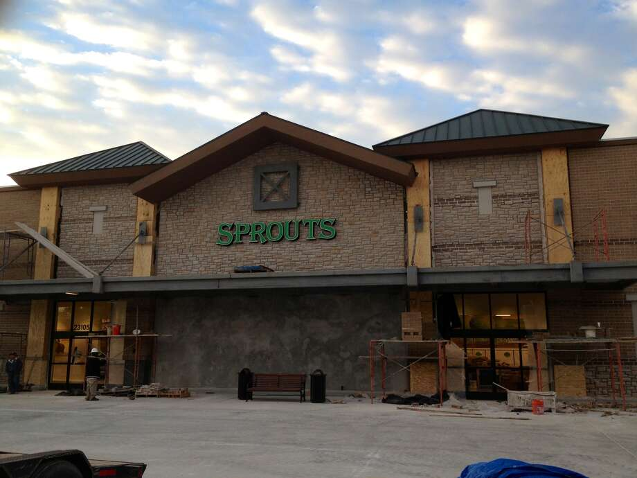 Sprouts Farmer's Market is scheduled to open March 27 at 23105 Cinco Ranch Blvd.