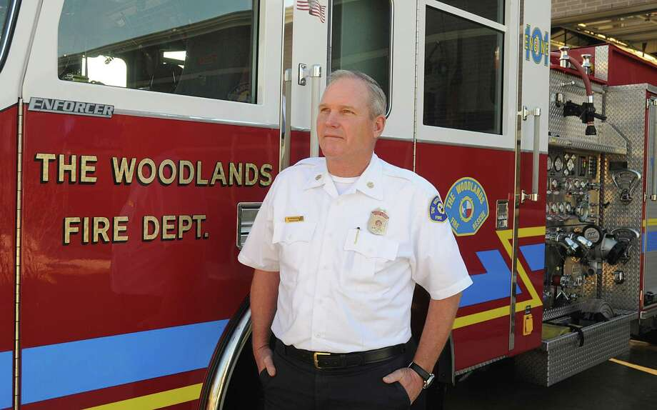 The Woodlands fire chief Alan Benson wants to raise his department's Insurance Services Office rating from 2 to 1. The top rating would be a plus and a draw to businesses considering moving to the area. Photo: David Hopper, Freelance / freelance