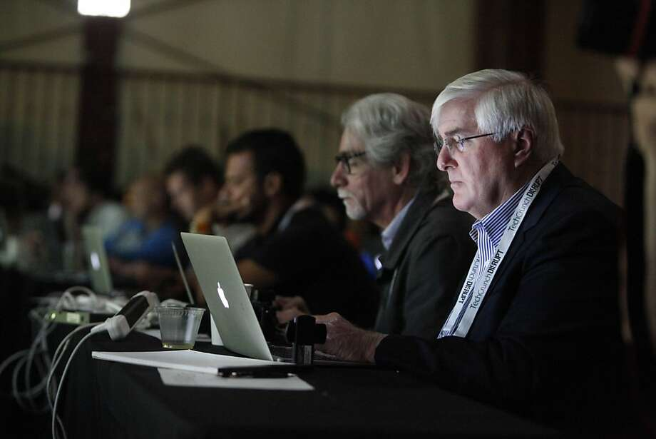 Tech mogul Ron Conway - shown here at the event TechCrunch Disrupt SF 2012 - isn't afraid of tackling the tough issues of 21st century urban life. Photo: Lea Suzuki, The Chronicle