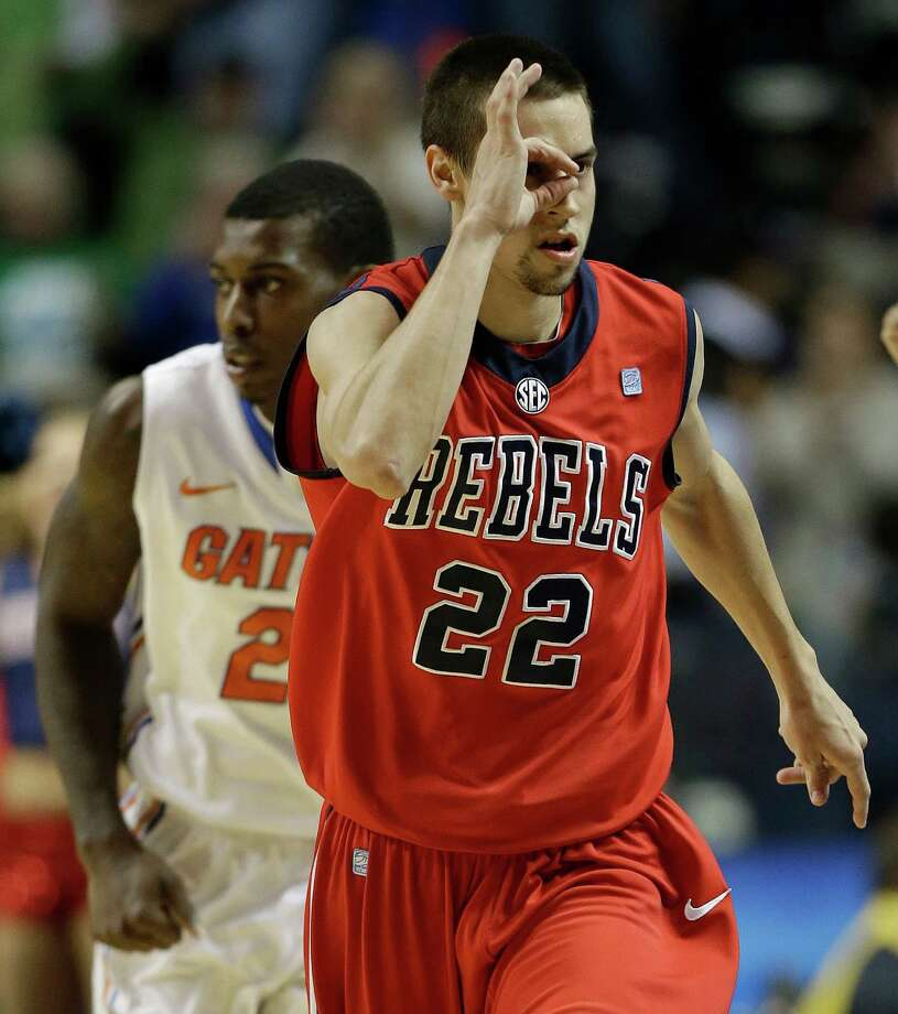 Marshall Henderson College: Ole MissHigh school: Hurst L.D. BellWhether he's Gator-chomping Florida fans or showing up in interesting Twitter pictures, the free-spirited Henderson is a lightning-rod for attention. He's a pretty good ballplayer, too. And he could have been at Texas Tech or Utah after washing out at both schools earlier in his career en route to the Rebels. Photo: John Bazemore, Associated Press / AP