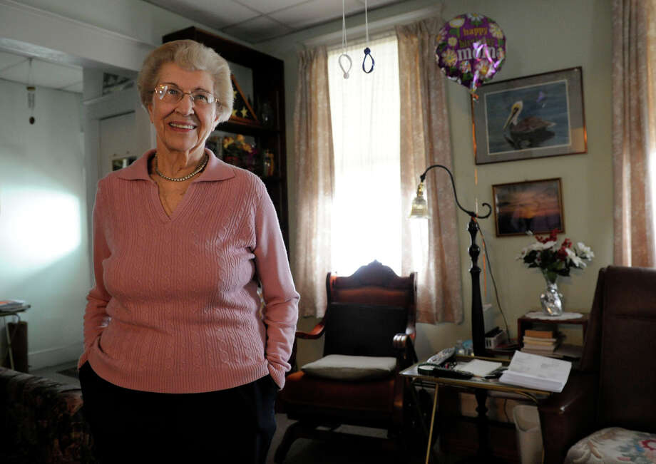 Charlotte Barrows, 86, lives by herself in a large house Hospital Avenue in Danbury, Conn., that has been in her family for generations. She is looking for senior housing in the city but can't find anything to suit her needs. Photo: Carol Kaliff / The News-Times