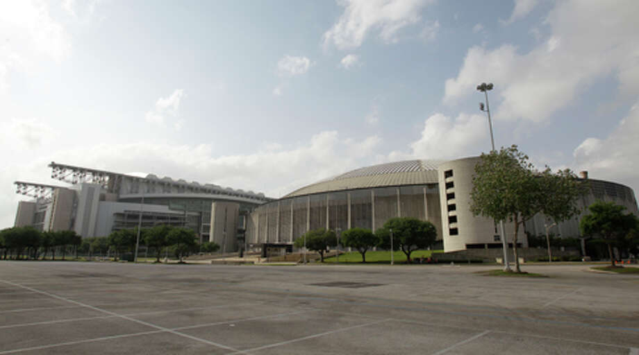 The Astrodome and Reliant Stadium are seen April 3, 2012 file photo. / © 2012 Houston Chronicle