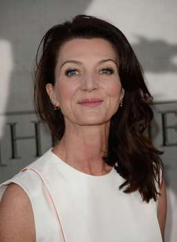 Actress Michelle Fairley pretty much looks the same.  Photo: Jason Merritt, Getty Images / 2013 Getty Images