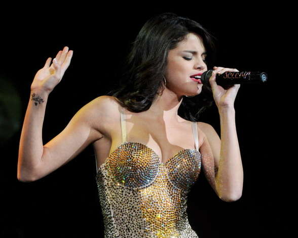 Selena Gomez performs in Las Vegas in 2011 Photo: Ethan Miller, Getty Images / 2011 Getty Images