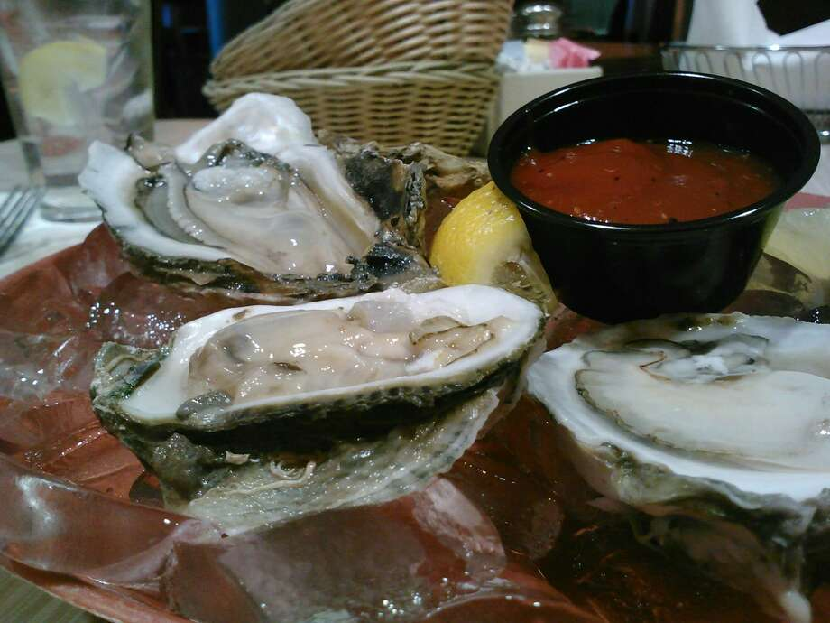 The Water Street Seafood Company, located in downtown Corpus Christi, serves up a variety of oyster dishes and other fresh seafood options. Photo: San Antonio Express-News