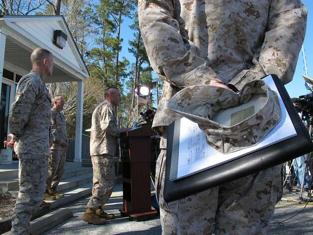 Gates of camp lejeune n c on tuesday march 19 2013 seven marines
