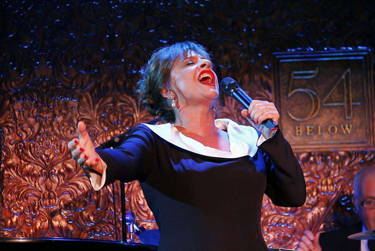 Tony Award-winner Patti LuPone performs her latest cabaret show