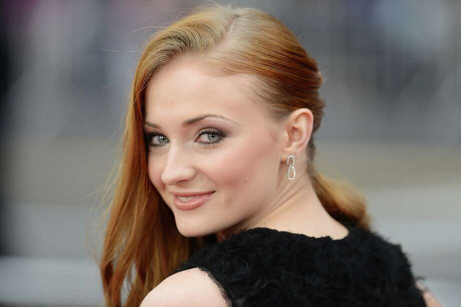 Actress Sophie Turner arrives at the premiere of HBO's Game Of Thrones Season 3 at TCL Chinese Theatre on March 18, 2013 in Hollywood, California. Photo: Jason Merritt, Getty Images / 2013 Getty Images