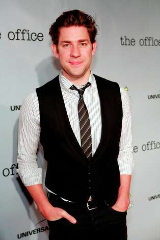 John Krasinski (Jim Halpert) at The Office wrap party at Unici Casa in Los Angeles, CA on Saturday, March 16. Photo: NBC, NBCU Photo Bank Via Getty Images / 2013 NBCUniversal Media, LLC