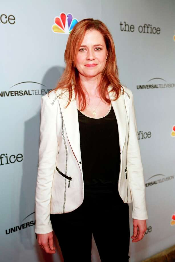 Jenna Fischer (Pam Beesly) at The Office wrap party at Unici Casa in Los Angeles, CA on Saturday, March 16. Photo: NBC, NBCU Photo Bank Via Getty Images / 2013 NBCUniversal Media, LLC