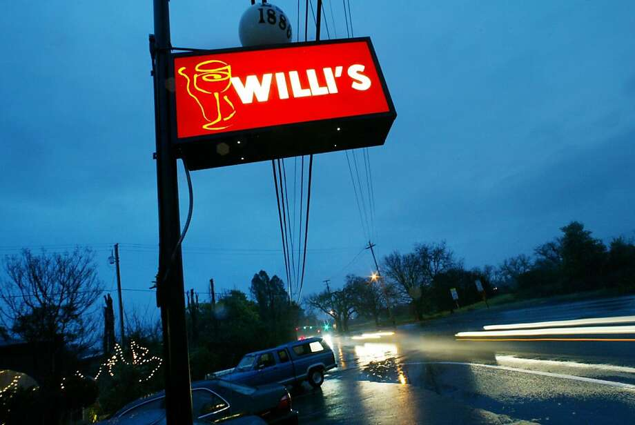 Willi's Wine Bar has long had a charming roadhouse appeal, but some consistency is missing. Photo: Chris Stewart, SFC