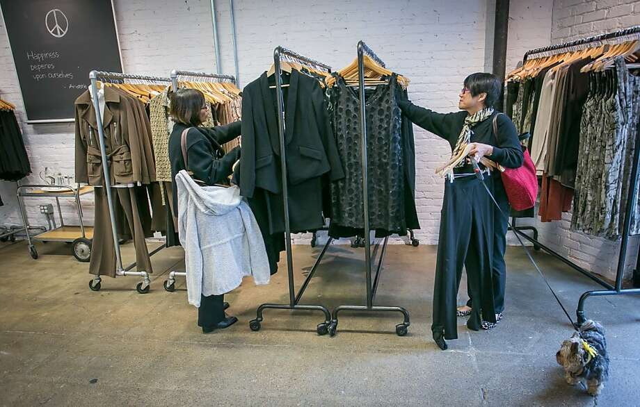 Women shop at the ISDA Outlet in San Francisco, Calif., is seen on Wednesday, March 6th, 2013. Photo: John Storey, Special To The Chronicle
