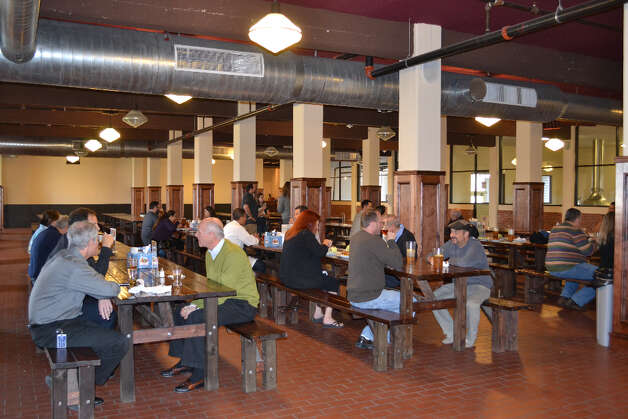 Beginning Wednesday, Saint Arnold Brewing Co. will offer a daily lunch service at the brewery, 2000 Lyons. The meal costs $17.55 ($19 after tax). Complimentary beer is included and tipping is not allowed.