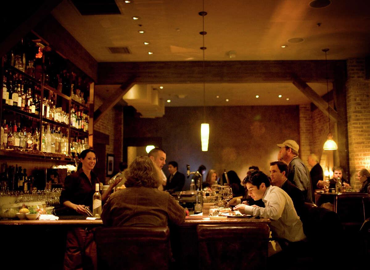 The bar at Michael Chiarello's Bottega in Yountville.