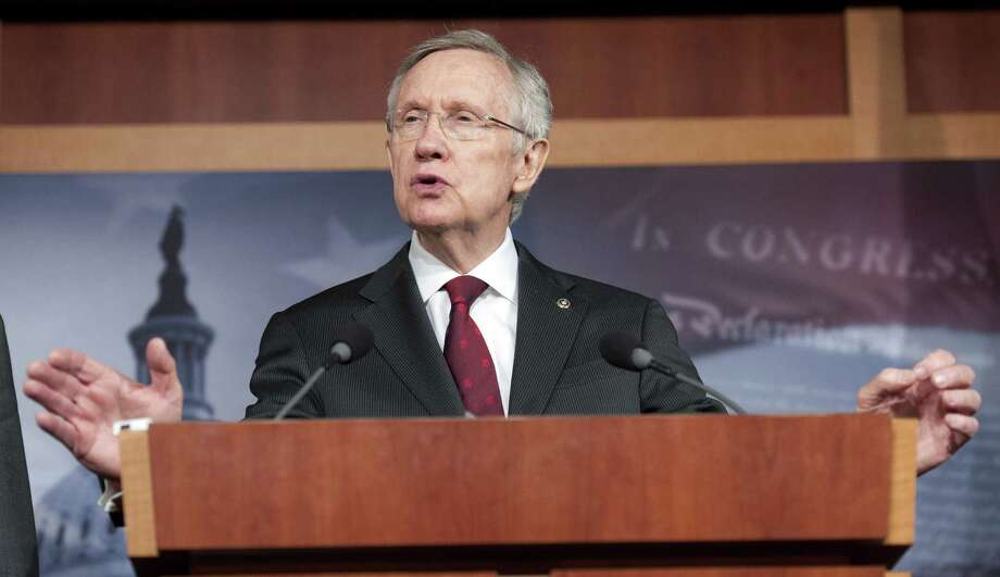Senate Majority Leader Harry Reid, D-Nev., declined to add certain measures to the gun control package. Photo: Cliff Owen / Associated Press