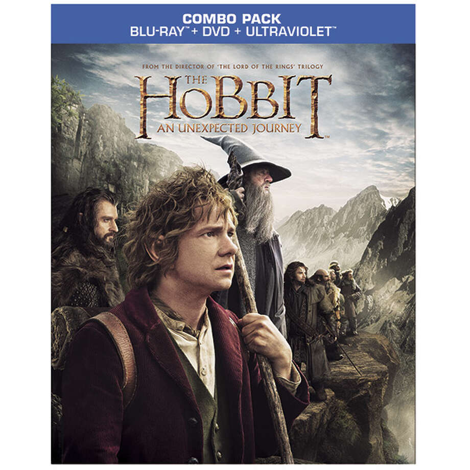 The Hobbit BD/DVD case. Photo: 2001 SNOWBOUND, ALL RIGHTS RESERVED
