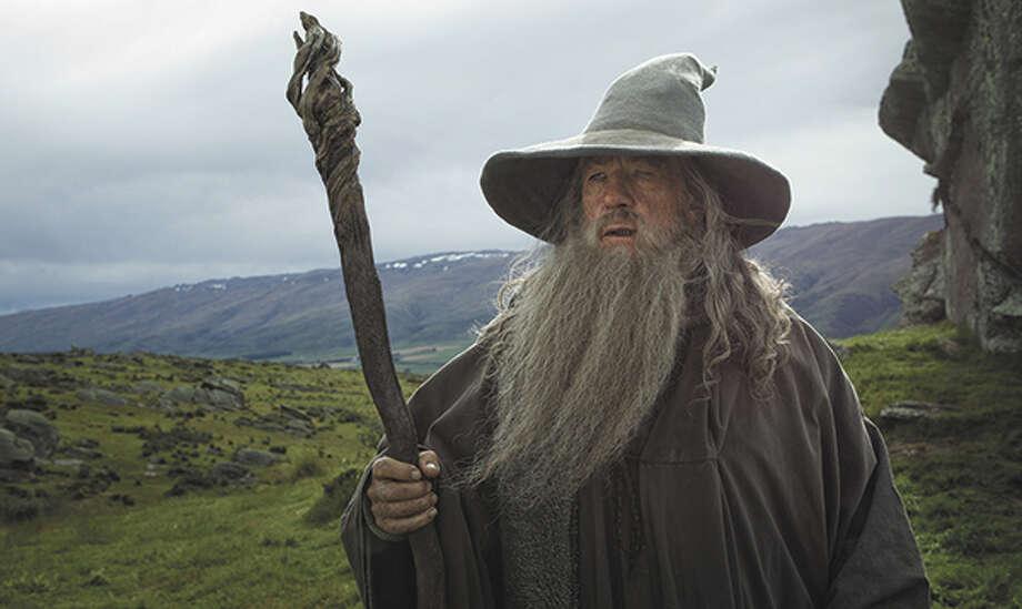 Ian McKellen as Gandalf. Photo: Mark Pokorny / ©2012 Warner Bros. Entertainment Inc. and Metro-Goldwyn-Mayer Pictures Inc. (US, Canada & New Line Foreign Territories) © 2012 Metro-Goldwyn-Mayer Pictures Inc. and Warner Bros. Entertainment Inc. (All Other Territories)