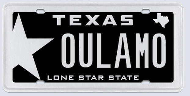 """This plate was rejected by the Texas Department of Motor Vehicles. Applicant's reasoning:""""There is nothing vulgar, profane, dirty, sexual or drug related in the letters or numbers I have chosen.""""  Photo: MyPlates.com"""