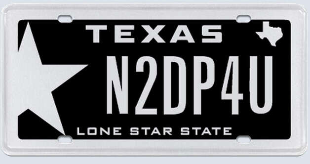 These are plates rejected by the Texas Department of Motor Vehicles. Photo: MyPlates.com