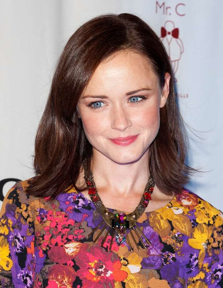 Alexis Bledel in 2012.  Photo: Imeh Akpanudosen, Getty Images / 2012 Getty Images