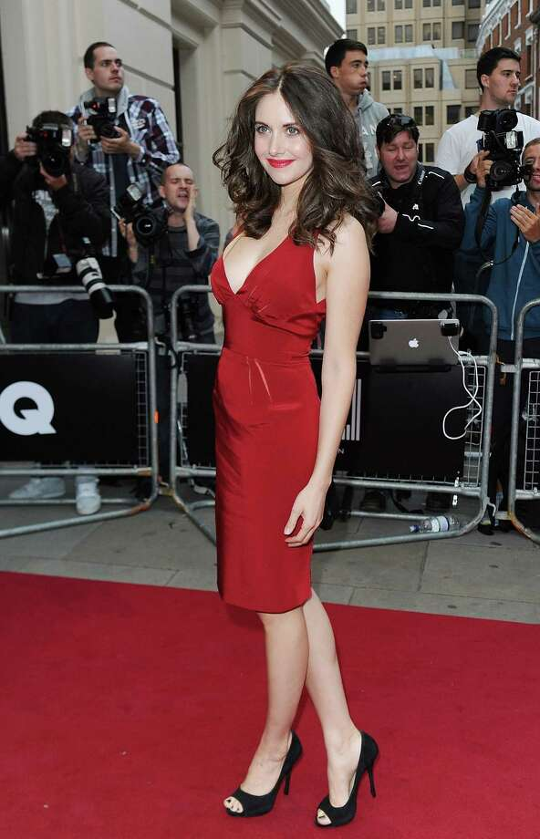 Here's another actress who looks a lot different than her character. It's Alison Brie, 30, at the GQ Men of the Year Awards in 2012. Photo: Ben Pruchnie, Getty Images / 2012 Getty Images