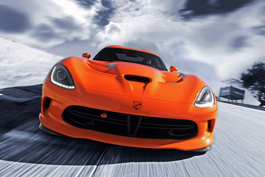 The new SRT Viper TA.