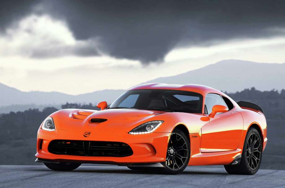 The new SRT Viper TA. Photo: Chrysler