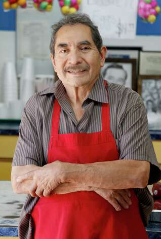 Lopez opened his grocery store in 1977. Since then, he's become known more for his meats than his sundries. Born in the Mexican state of Michoacán, Lopez loves to explain his specialty: barbacoa de cabeza. Lopez cooks (using a steaming process) the cow heads for 11 hours for his specialty, which is  served only on Fridays-Sundays. Photo: Thomas B. Shea, For The Chronicle / © 2013 Thomas B. Shea