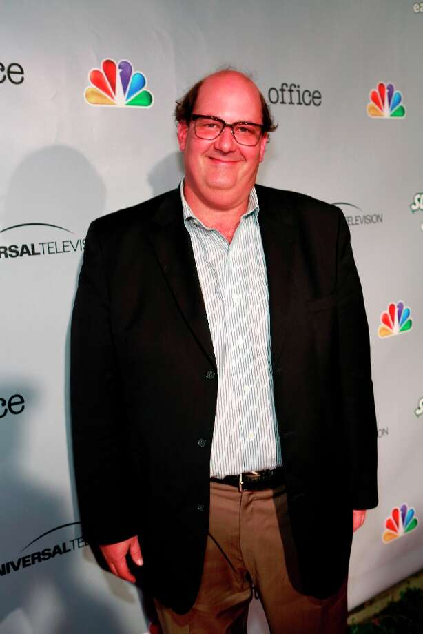 Brian Baumgartner (Kevin Malone) at The Office wrap party at Unici Casa in Los Angeles, CA on Saturday, March 16. Photo: NBC, NBCU Photo Bank Via Getty Images / 2013 NBCUniversal Media, LLC