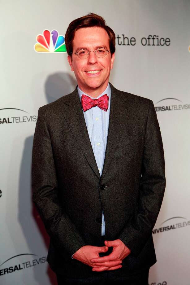 Ed Helms (Andy Bernard) at The Office wrap party at Unici Casa in Los Angeles, CA on Saturday, March 16. Photo: NBC, NBCU Photo Bank Via Getty Images / 2013 NBCUniversal Media, LLC