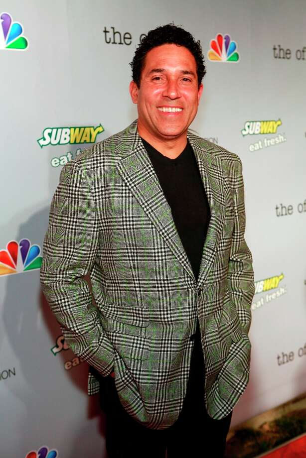 Oscar Nunez (Oscar Martinez) at The Office wrap party at Unici Casa in Los Angeles, CA on Saturday, March 16. Photo: NBC, NBCU Photo Bank Via Getty Images / 2013 NBCUniversal Media, LLC