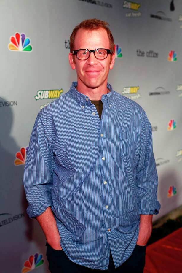 Paul Lieberstein (Toby Flenderson) at The Office wrap party at Unici Casa in Los Angeles, CA on Saturday, March 16. Photo: NBC, NBCU Photo Bank Via Getty Images / 2013 NBCUniversal Media, LLC