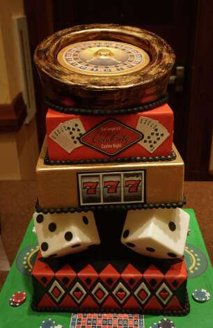 A groom's cake reflects a man who enjoys trips to Las Vegas. Photo: Courtesy Photo