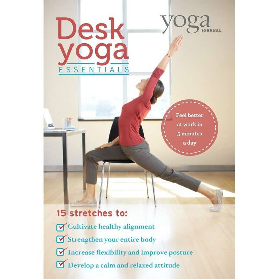 Yoga Journals  Desk Yoga Essentials Photo: DVD Cover