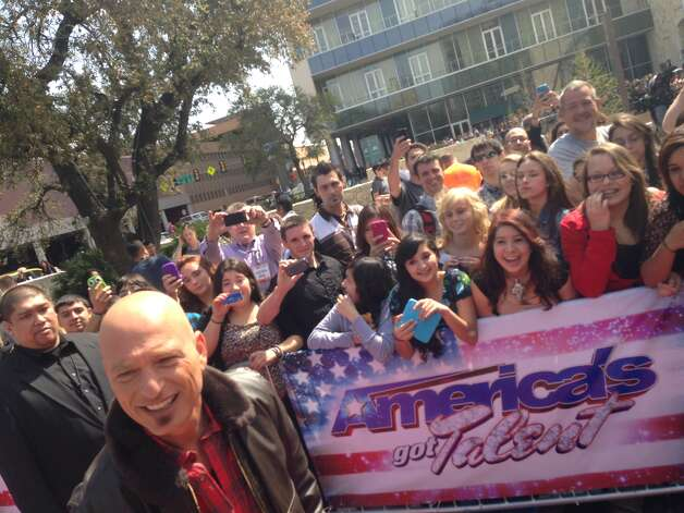 "Judge Howie Mandel arrives for ""America's Got Talent"" tapings Wednesday, March 20, 2013, in San Antonio. Photo: Benjamin Olivo/Express-News"