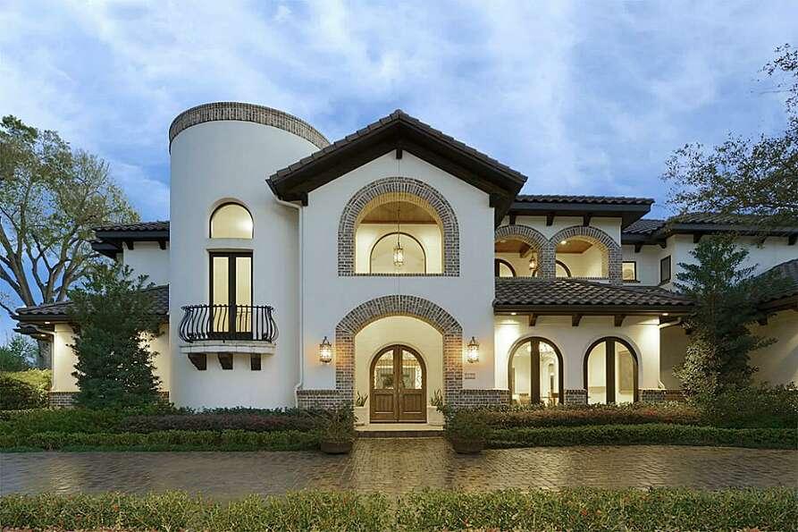 the spanish style villa offers plenty of amenities