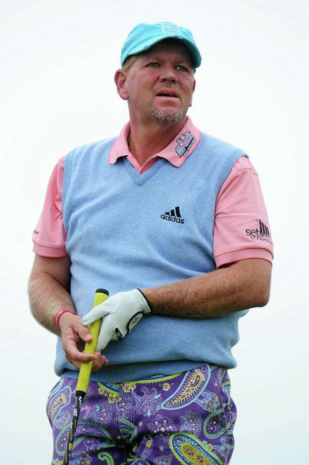 It's not exactly a uniform, but anything John Daly wears shoots straight to the top of the ugliest things an athlete has ever worn list. There's this pastel nightmare... Photo: Stuart Franklin, Getty Images / Getty Images Europe