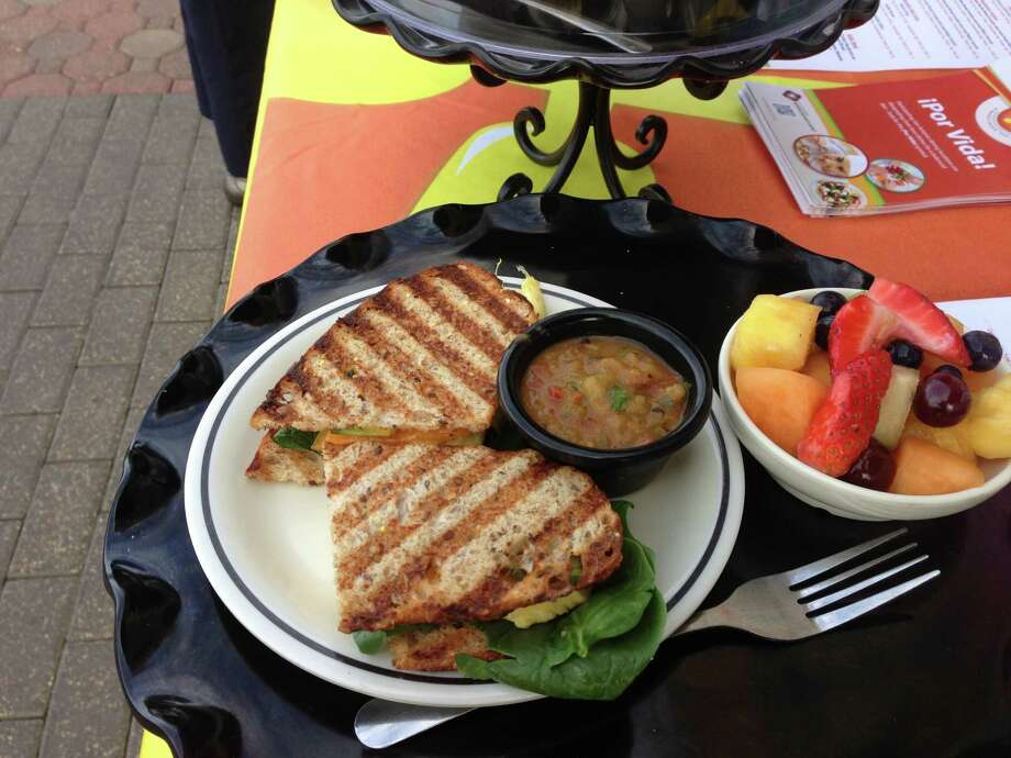 Corner Bakery CafŽ offers Power Panini varieties as part of its !Por Vida! healthy dining options menu. Photo: Courtesy Photo