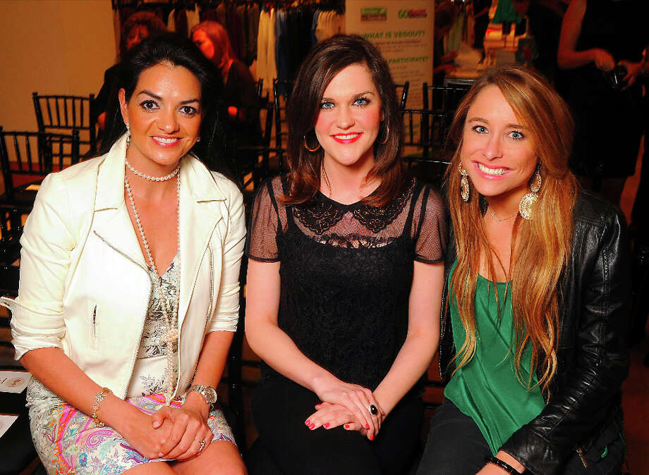 From left: Yvonne Betts, Aleia Miinyon and Ellen Moffitt Photo: Dave Rossman, For The Houston Chronicle / © 2013 Dave Rossman