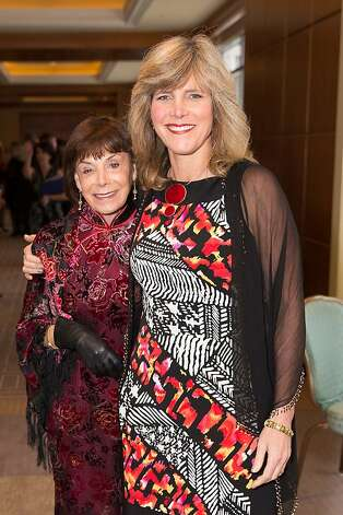 Charlen Esserman and Laura Esserman at the American Cancer Society's San Francisco Soiree on March 19, 2013. Photo: Drew Altizer Photography