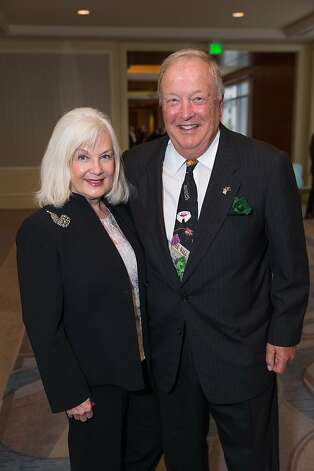 Arlene Inch and Jim Oakes at the American Cancer Society's San Francisco Soiree on March 19, 2013. Photo: Drew Altizer Photography