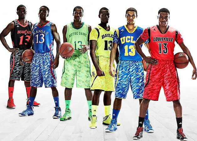 In (dis)honor of Adidas' new blindingly bright postseason uniforms, here's a look back at some of the ugliest uniforms in recent memory. Photo: Aaron Hewitt, Associated Press