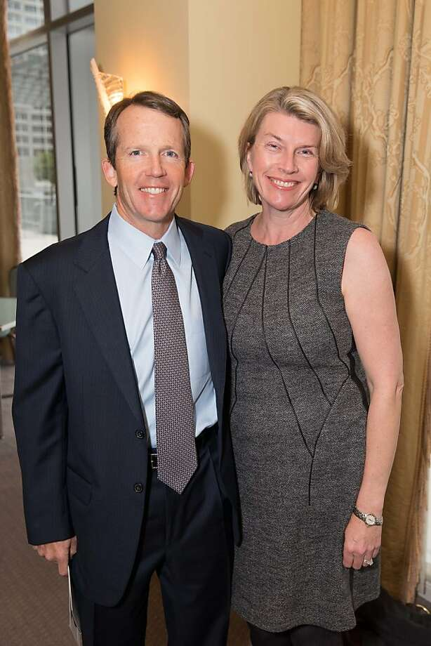 Dan and Jocelyn Swisher at the American Cancer Society's San Francisco Soiree on March 19, 2013. Photo: Drew Altizer Photography