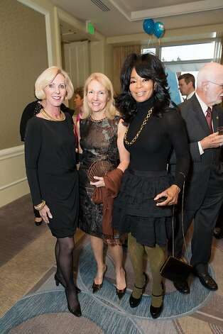 Patricia Sprincin, Ann Girard and Michelle Renee at the American Cancer Society's San Francisco Soiree on March 19, 2013. Photo: Drew Altizer Photography