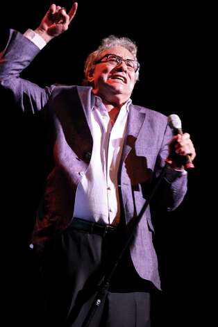 "Lewis Black performs at the Warner Theater on his ""Running on Empty"" tour in Washington, Sept. 29, 2012. In their acts, comedians like Black demonstrate how a polarized political culture has changed late-night television. (Marty Katz/The New York Times) Photo: MARTY KATZ / NYTNS"