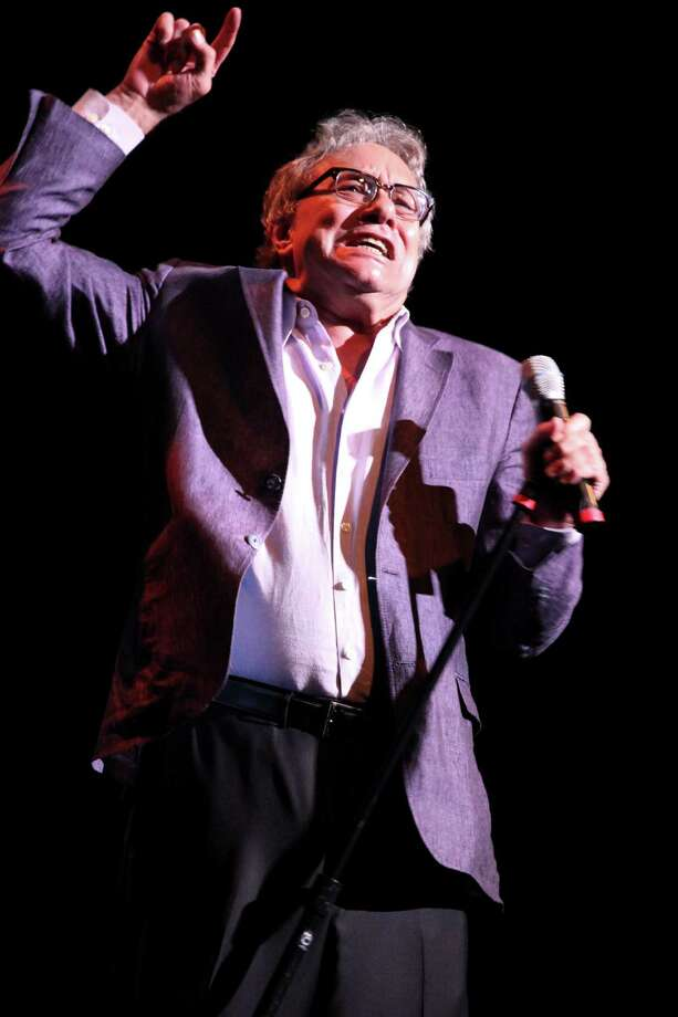 """Lewis Black performs at the Warner Theater on his """"Running on Empty"""" tour in Washington, Sept. 29, 2012. In their acts, comedians like Black demonstrate how a polarized political culture has changed late-night television. (Marty Katz/The New York Times) Photo: MARTY KATZ / NYTNS"""