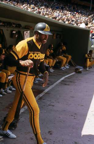 Even Dave Winfield couldn't make this mustard-and-brown 1978 San Diego Padres getup look cool. Photo: Michael Zagaris, MLB Photos Via Getty Images