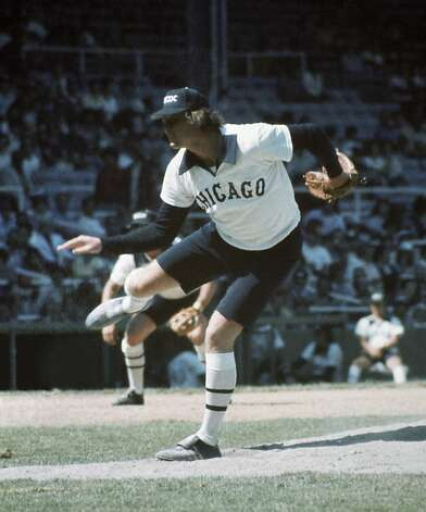 The infamous 1976 White Sox shorts experiment. In short, it failed. Photo: Diamond Images, Getty Images